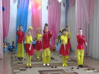 Танец колобка на детском саду видео