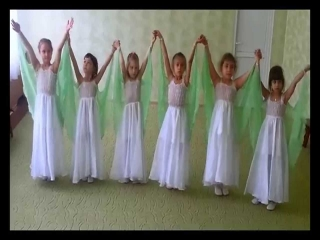 Видео танец березки детский