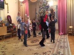 Новогодний танец мальчиков на детском саду видео